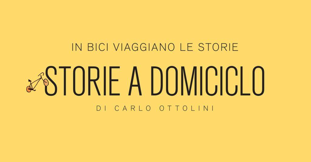 Le storie a domicilio arrivano a casa in bicicletta con l'attore Carlo Ottolini