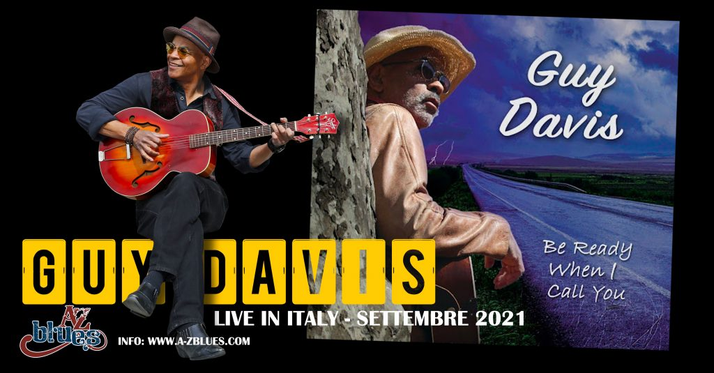 Guy Davis in Italia grazie ad AZ Blues